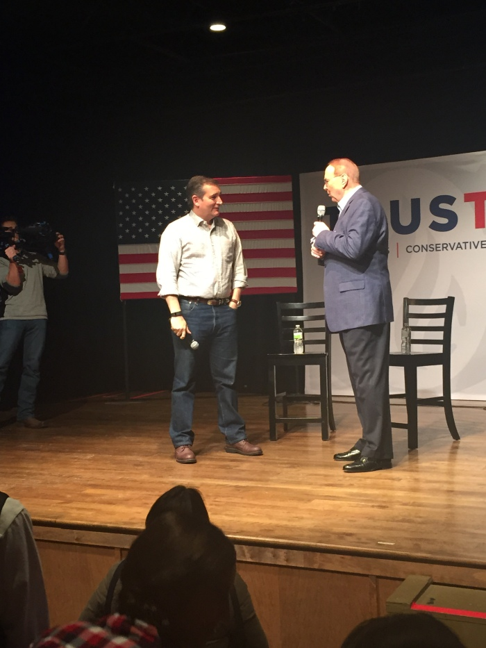 Ted Cruz takes Winterset to church